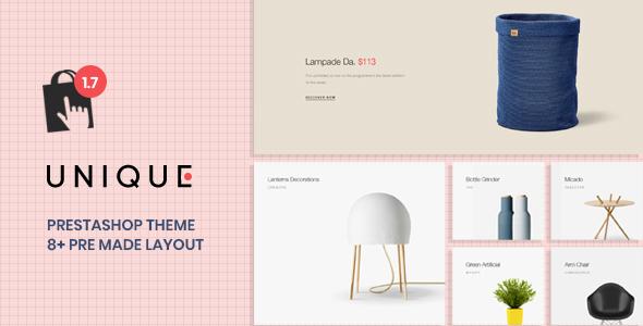 At Unique Prestashop 1.7.6.x Theme for Furniture & Home Decor
