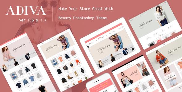 JMS Adiva - Responsive Prestashop Fashion Store Theme