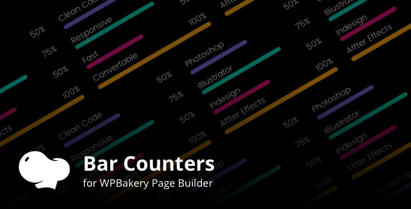 Bar Counters Addons for WPBakery Page Builder Wordpress Plugin