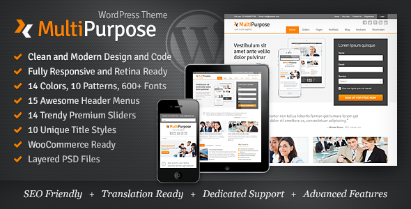 MultiPurpose - Responsive WordPress Theme 4