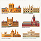 The Best World National Universities Icons. - GraphicRiver Item for Sale