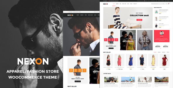 Nexon - Apparel Store Multipurpose Responsive WooCommerce WordPress Theme