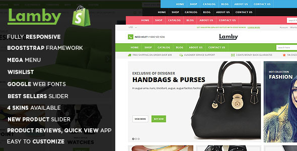 Lamby Shoes Store Shopify Theme & Template