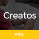 Creatos - One Page Parallax Premium Template - ThemeForest Item for Sale