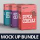 Cereals Box Mockup Bundle - GraphicRiver Item for Sale