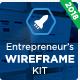 The Entrepreneur's Wireframe Kit - Keynote Version - GraphicRiver Item for Sale