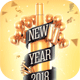 New Year 2018 Flyer Template - GraphicRiver Item for Sale