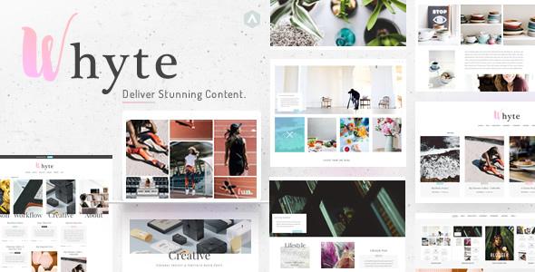 Whyte | Creative WP Theme