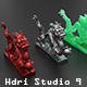 Hdri Studio 9 - 3DOcean Item for Sale