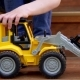 Boy Plays with Toy - VideoHive Item for Sale