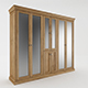Wooden Wardrobe - 3DOcean Item for Sale