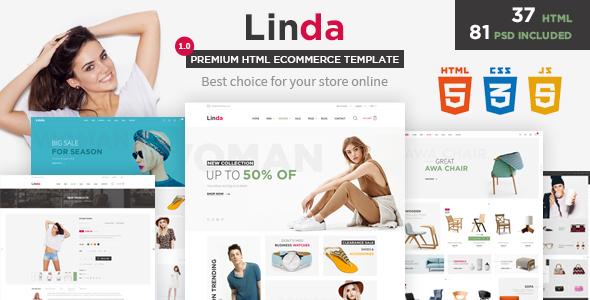 Linda - Mutilpurpose eCommerce HTML Template
