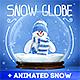 Snow Globe + Animated Snow - GraphicRiver Item for Sale