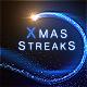 Magic Christmas Streaks - VideoHive Item for Sale