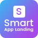 Smart - App Landing Page PSD Template - ThemeForest Item for Sale