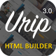 Urip - Professional Landing Page With HTML Builder - ThemeForest Item for Sale