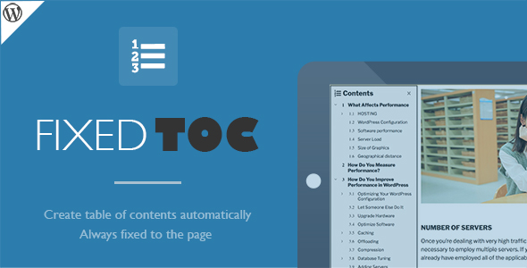 Fixed TOC, table of contents for WordPress plugin, Fixed TOC table of contents for WordPress plugin, Fixed TOC free download, Fixed TOC pro nulled, Fixed TOC license key