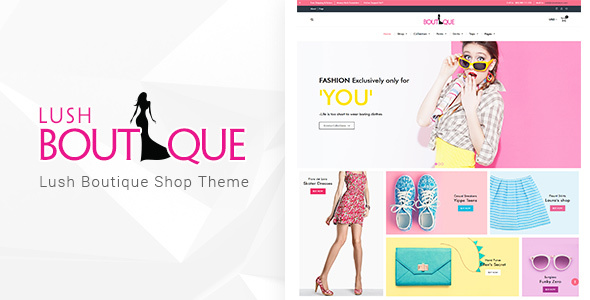 Lush Boutique - Fashion WordPress Theme