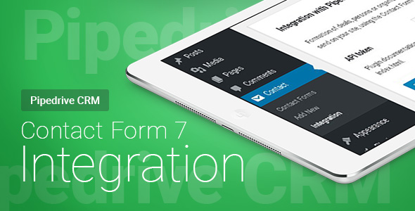 Contact Form 7 - Pipedrive CRM - Integration Download