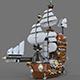 Lego ship air - 3DOcean Item for Sale