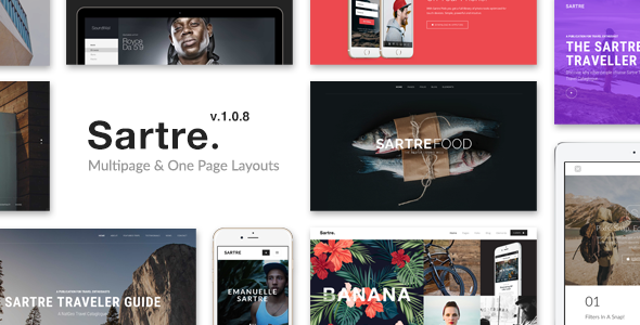 Themeforest | Sartre - Creative Multipurpose HTML Template Free Download free download Themeforest | Sartre - Creative Multipurpose HTML Template Free Download nulled Themeforest | Sartre - Creative Multipurpose HTML Template Free Download