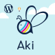 Aki - Multipurpose Kids WordPress Theme - ThemeForest Item for Sale