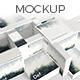 Realistic Square Magazine/Brochure Mockup - GraphicRiver Item for Sale