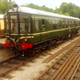 Vintage Train Passing