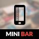 MiniBar Mobile - ThemeForest Item for Sale