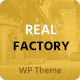 Real Factory - Construction - ThemeForest Item for Sale