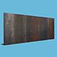 Metal Wall - 3DOcean Item for Sale
