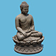 Earth Touching Buddha - 3DOcean Item for Sale