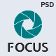 Focus — Photographer portfolio PSD Template - ThemeForest Item for Sale