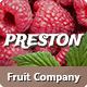 Preston | Fruit Company & Organic Farming WordPress Theme - ThemeForest Item for Sale