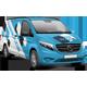 European Light Commercial Van Mockup - GraphicRiver Item for Sale