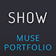 Show_Portfolio & Resume Muse Template - ThemeForest Item for Sale