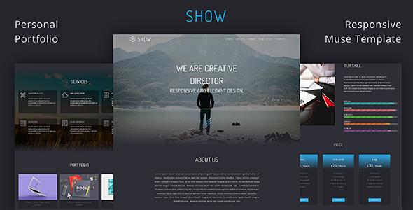 Show_Portfolio & Resume Muse Template