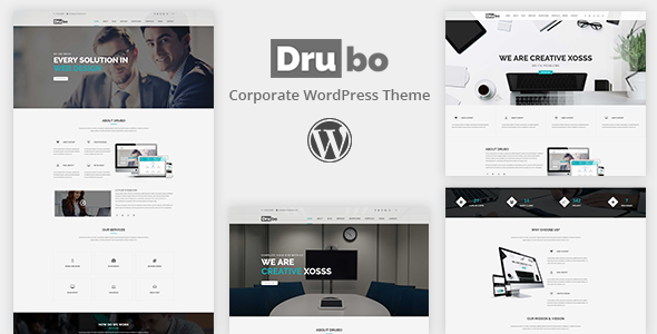 Drubo - Business Corporate WordPress Theme