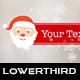 Christmas Santa Claus Lower Thirds - VideoHive Item for Sale