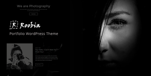 Roobia - Portfolio WordPress Theme