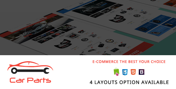 Carparts - Auto Mechanic Responsive PrestaShop Theme