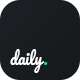 Daily - PSD Template - ThemeForest Item for Sale