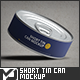 Short Tin Can Mock-Up - GraphicRiver Item for Sale