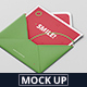 Greeting Card Mockup with Envelope - GraphicRiver Item for Sale