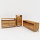 Bedroom Storage Set - 3DOcean Item for Sale