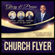 Glory and Praise Church Flyer Template - GraphicRiver Item for Sale