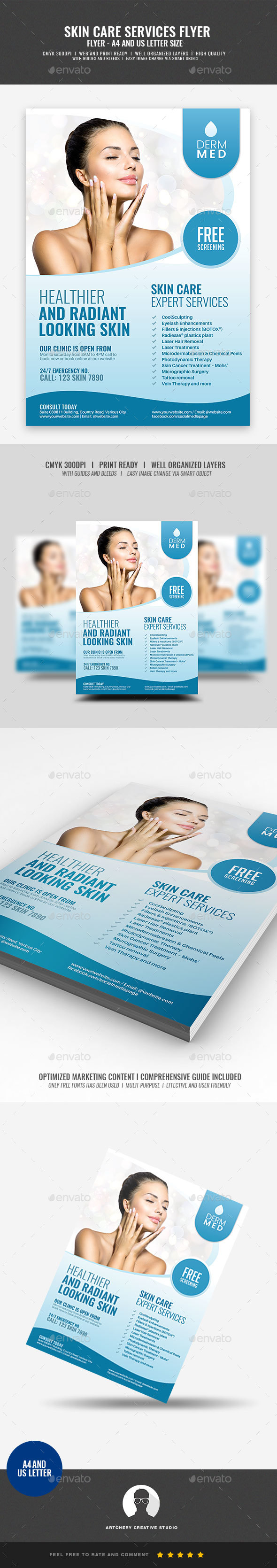 Dermatology Graphics, Designs & Templates from GraphicRiver