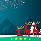Christmas Card Fireworks of Santa - CodeCanyon Item for Sale
