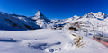The Matterhorn and a train. - PhotoDune Item for Sale