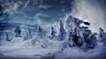 A winter snow storm near Lillehammer - PhotoDune Item for Sale